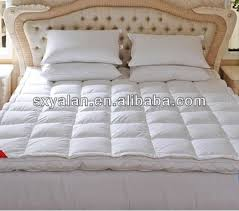 3 5 stars hotel bed double layers clean white down feather