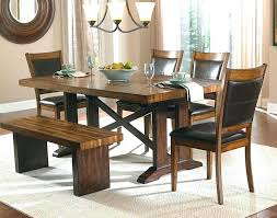 Dining Room Bench Seat Wooden Dining Tables With Benches Barn Board Dining Room Tables