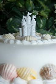 beach wedding cakes lovetoknow