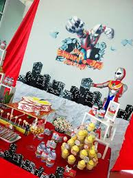 Candy Buffet For Parties by Backdrop U0026 Cake Table Candy Buffet For An Ultraman Themed