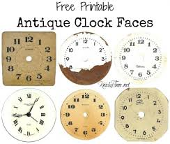 printable antique clock faces antique clock face graphics from school book clock faces antique