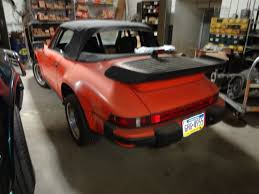 porsche 911 sc engine for sale porsche 911 convertible 1982 orange for sale wp0ea0919cs160417