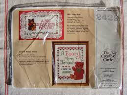 156 Best Home Sweet Home by Vintage New Nip Creative Circle A Beary Merry Christmas Cross