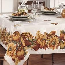 52 x 70 fall gatherings thanksgiving tablecloth