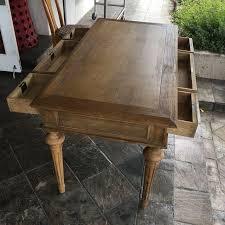 restoration hardware french partner u0027s desk chairish