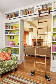 Rolling Bookcases Best 25 Rolling Ladder Ideas On Pinterest Library Ladder