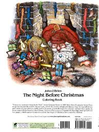 picture gallery for website night before christmas coloring book