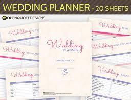 wedding organizer binder wedding binder dividers