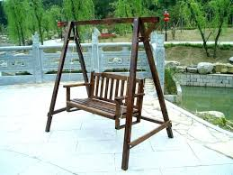 wooden garden swing seats outdoor furniture large size of patio