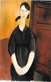 modigliani woman with a fan paulette jourdain modigliani s favorite model artnet news
