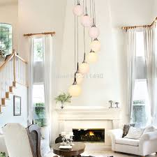 large glass globe pendant light modern white glass globe shade large spiral large pendant light with
