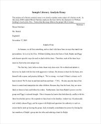 sample literary essay templates memberpro co
