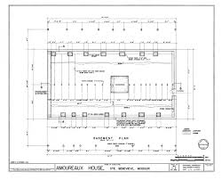 foundation plans houses filebasement floor structural plan home