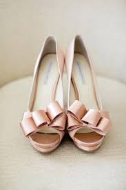 blush wedding shoes blush gold and wedding colours sophisticated and
