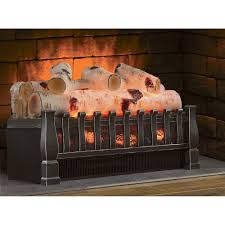 electric fireplace log inserts