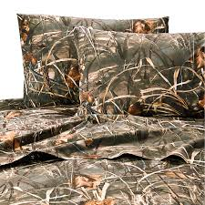 Orange Camo Comforter Camouflage Bedding Cabin Place