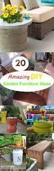 20 amazing diy garden furniture ideas diy patio u0026 outdoor