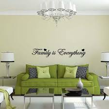 Quote Decals For Bedroom Walls Family Is Everything Wall Sticker Vinyl Art Quote Decal Bedroom