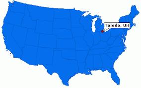 toledo ohio map toledo ohio city information epodunk