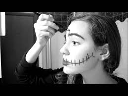 make up halloween semplice trucco halloween youtube