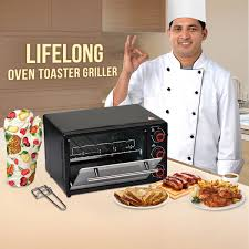 Oven Grill Toaster Buy Lifelong Oven Toaster Grill Online At Best Price In India On