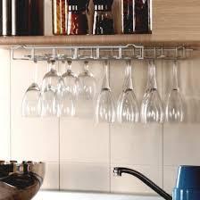 etagere en verre pour cuisine rangement pour verres a pied sous etagere maison design bahbe com