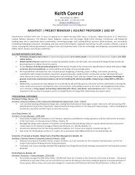 Construction Project Manager Resume Example by Architectural Project Manager Resume Architectural Project