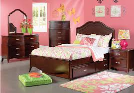 Kids Rooms To Go by Shop For A Nicolette Cherry 5 Pc Full Bedroom At Rooms To Go Kids