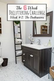 Bathroom Tips How To Declutter The Bathroom Clean And Scentsible