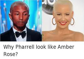 Pharrell Meme - why pharrell look like amber rose academy awards meme on esmemes com