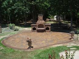 outdoor pizza oven patio traditional with slope cast stone tiered