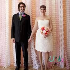 wedding backdrop garland 3m wedding garland 50pcs lot wedding background wedding tissue