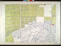 Map Of City Of Los Angeles by File Wpa Land Use Survey Map For The City Of Los Angeles Book 5