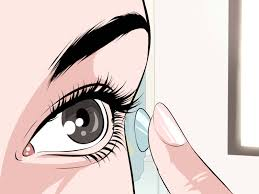 where can i buy halloween contact lenses 3 ways to tell if a soft contact lens is inside out wikihow