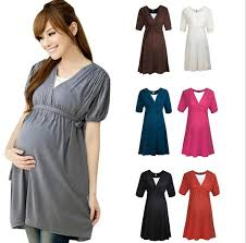pregnancy clothes summer dresses for women maternity casual dress elastic