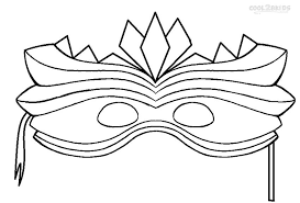 cool mardi gras masks printable mardi gras coloring pages for kids cool2bkids carnival