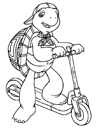 Kids N Fun Com 36 Coloring Pages Of Franklin Franklin Coloring Pages