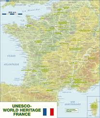 Provence France Map by Map Of Unesco World Heritage France Map In The Atlas Of The