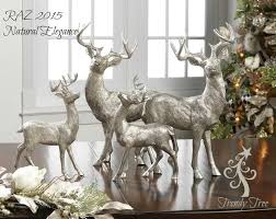 Christmas Tree Decorations With Deer Antlers by 165 Best Christmas Reindeers Decor Images On Pinterest
