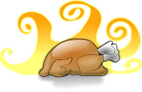thanksgiving cooked turkey clipart 53