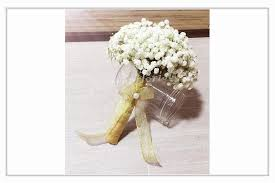 Baby Breath Baby Breath Hand Bouquet By Singapore Florist Online U2013 Just The