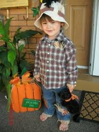 Halloween Scarecrow Costume Cute Homemade Scarecrow Costume Kids Children U003c3