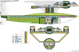 star trek deckplan federation starship images and deckplans