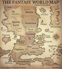 Thedas Map Fantasy World Map