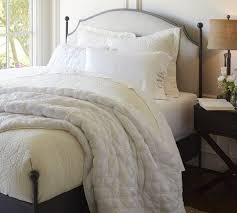 Pottery Barn Iron Bed Beds Headboards Vintage Style Iron Bed