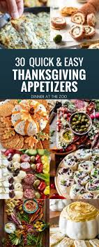 30 thanksgiving appetizer recipes dinner at the zoo