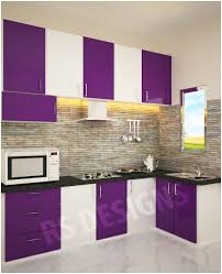 Modular Kitchen Interiors Brilliant Kitchen Design India Modular Front View N And Ideas