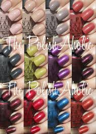 the polishaholic opi fall 2012 germany collection swatches