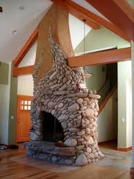 Unique And Beautiful Stone Fireplace by Beautiful Stone Fireplaces