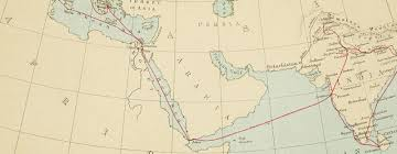 middle east map india the prince of waless tour of india in 1875 6